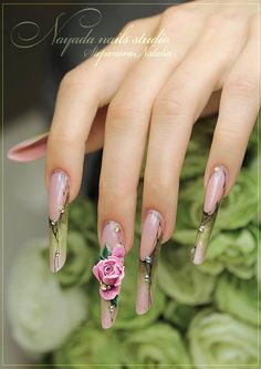 Magnetic Nail Design, Nails by Nayada