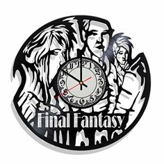 Clock on the wall Final Fantasy, best gift for Final Fant... https://www.amazon.com/dp/B07142MX6C/ref=cm_sw_r_pi_dp_U_x_HtMzAbKJN2D6G