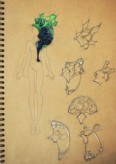 Mala Siamptani (Cyprus) - design of shoulder piece