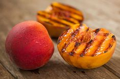 Grilled Peaches - an easy healthy summer dessert
