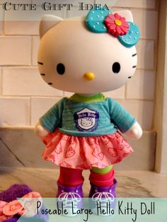 Cute Gift Idea – NEW Poseable Large Hello Kitty Doll (Dancer)