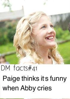 I would too if she was as mean to me as she is to Paige