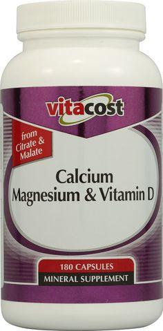 Vitacost Calcium Magnesium & Vitamin D
