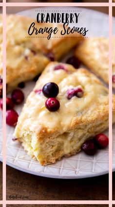 These Cranberry Orange Scones are so flaky and tender! Cranberry scones are made with sour cream to keep them extra moist, and the fresh orange zest and juice in these cran orange scones give this sweet breakfast treat such a bright flavor. Easy Baking Recipes, Best Dessert Recipes, Brunch Recipes, Lime Desserts, Fun Desserts, Cranberry Orange Scones, Orange Zest, Sour Cream Scones, Muffins