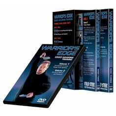 Three disk DVD set of approximately 7 hrs. Covers topics such as the 3 ranges of knife fighting, footwork, stabbing methods, defensive footwork, the principles for creating openings, sparring instruction and more.