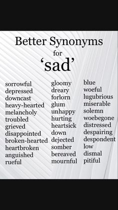 Inspirational quotes : sad Synonyms Synonyms for Sad. Inspirational quotes : sad Synonyms Synonyms for Sad. Inspirational quotes : sad Synonyms Synonyms for Sad. Essay Writing Skills, Book Writing Tips, Writing Words, Writing Ideas, Synonyms For Writing, Writing Prompts For Writers, Writer Tips, English Writing Skills, Writing Help