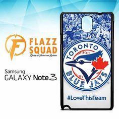 toronto blue jays Z4182 Samsung Galaxy Note 3 Case