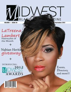 Black Hair Magazine, Protective Styles, Wedding Hairstyles, Hair Beauty, Magazine Covers, Hair Styles, Magazines, Model, Asia
