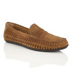 Frank Wright Leeward Mens Slip On Loafers, Tan