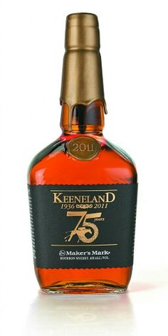 Another thing to add to our food and drink. Bourbon and Keeneland go together like peanut butter and jelly Whiskey In The Jar, Good Whiskey, Cigars And Whiskey, Scotch Whiskey, Bourbon Whiskey, Whiskey Bottle, Alcohol Bottles, Liquor Bottles, Fun Drinks
