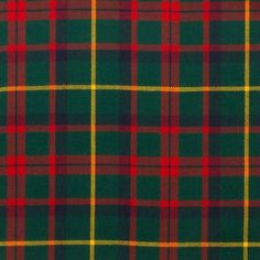 MacIntosh Hunting Modern Lightweight Tartan by the meter – Tartan Shop