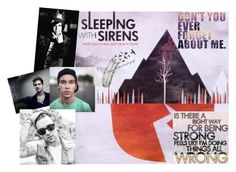 """""""10 Songs by Sleeping With Sirens You Should Check Out - Destiny"""" by x-punk-and-band-stuff-x ❤ liked on Polyvore"""