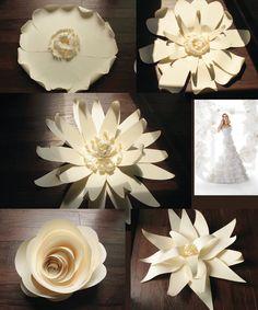 paper flower types