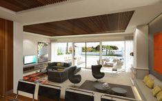 Sol de Mallorca - Villa Deluxe mit traumhaftem Panorama-Meerblick Villa, Modern, Table, Furniture, Home Decor, Fireplace Living Rooms, Ground Floor, Open Plan Kitchen, Trendy Tree