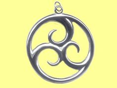 Pendant Maori Symbol Triple #Koru