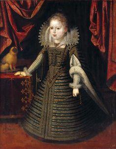 Juan Pantoja de la Cruz - Anne d'Autriche