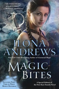 Cover Reveal: Magic Bites by Ilona Andrews - Collector's Edition