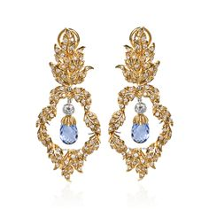 Buccellati - Earrings - Brio Pendant Earrings - High Jewelry