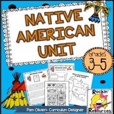 The Native American Unit is one of my favorite units! It motivates students to want to learn about the Native Americans of North America (Eastern Woodlands, Great Plains, Southwest, Northwest Coast, Southeast).
