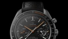 Omega opted for a fresh take on its classic Speedmaster for this year's Baselworld watch show in Switzerland. An iconic racing chronograph in the Omega's product portfolio, the new Racing Master Chronometer makes for a