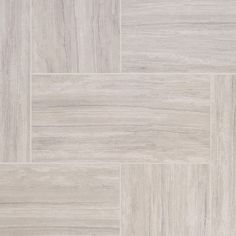 Classic Bianca Porcelain Tile - 12 x 24 - 100175686 Room Tiles, Bathroom Floor Tiles, Tile Floor, Modern Grey Kitchen, Grey Kitchen Designs, Guest Bathrooms, Bathroom Sets, Dream Bathrooms, Small Bathroom