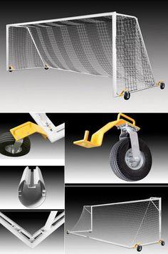 eccb2f20d7 Kwik Goal Evolution Evo 2.1 Soccer Goal With Swivel Wheels