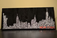 New York City (NYC) String Art