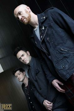 The Script photoshoot for Hot Press Magazine in The Morrison Hotel, Dublin, 2nd August 2012