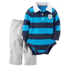 2-Piece Bodysuit & Pant Set | Carters.com