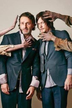 Luv pic of Norman Reedus & Andrew Lincoln!