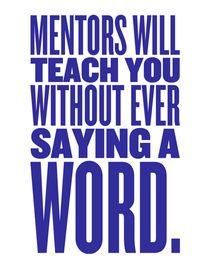 Mentors http://bonnielfrank.com #mentors #entrepreneur