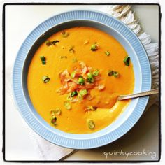 Quirky Cooking: Creamy Smoked Salmon Soup in the Thermomix