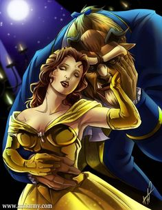 A more adult Beauty and the Beast cartoon. Still lovely tho.