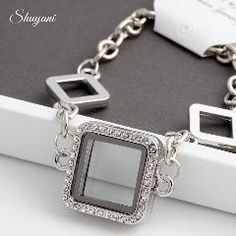 [ 41% OFF ] 2015 Floating Locket Charms Bracelet Bangles For Women Men Magnetic Glass Living Memory Locket Bracelet Jewelry