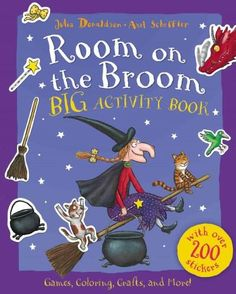 Reading books Room on the Broom Big Activity Book EPUB - PDF - Kindle Reading books online Room on the Broom Big Activity Book with easy simple steps. Room on the Broom Big Activity Book Books format, Room on the Broom Big Activity Book kindle, pdf online Halloween Activities, Book Activities, Halloween Books, Preschool Halloween, Halloween Crafts, Halloween Party, Up Book, Love Book, Toddler Books