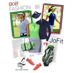 """Lori's Golf Shoppe Featuring JoFit Ladies Apparel"" by lorisgolfshoppe on Polyvore"
