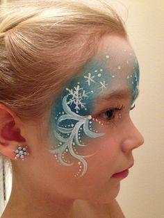 Elsa face paint | par Naztrida
