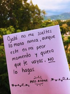 Tumblr Love, Love Text, Bae Quotes, Love Phrases, Sad Love, Love Notes, Spanish Quotes, Love Messages, Love Letters