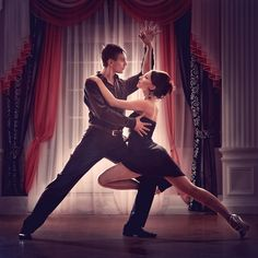 Argentine Tango- the sexiest, most romantic and passionate ballroom dance style. If by chance I do get married one day I hope I can do this at my wedding (dependent of course on if the future hubs has two left feet or not...)