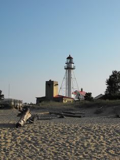 Whitefish Point Lighthouse~Lake Superior~Michigan