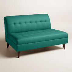 One of my favorite discoveries at WorldMarket.com: Textured Woven Florian Upholstered Love Seat