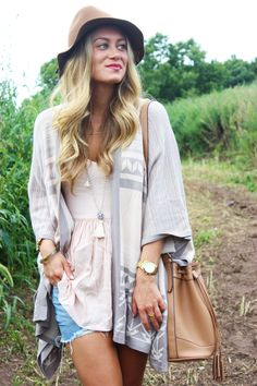 I love this oversized boho cardigan, but I'm not really missing summer. Bring onnnn autumn.