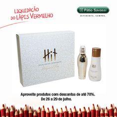 Kit Hit Edição Especial Comemorativa, de 104,90 por R$73,43 na L'acqua di Fiori do @meupatiosavasssi