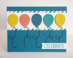 Stampin' Up Paper Pumpkin May 2015 Kit-Birthday Cards