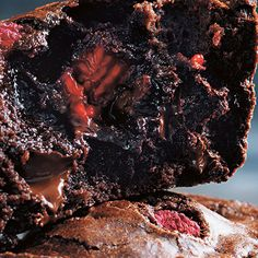 Try this Fudgy Chocolate Puddings with Raspberries recipe by Chef Donna Hay. This recipe is from the show Donna Hay: Basics To Brilliance.
