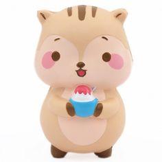 squishy profumato scoiattolo marrone animali kawaii Popularboxes_hk