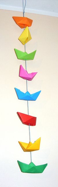 boat garland | Flickr: Intercambio de fotos