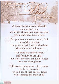 missing dad shareable quotes for facebook | ... will celebrate the whole Christmas with my father My dad and Christmas
