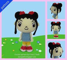 Ravelry: Kai-Lan Chow - Amigurumi crochet pattern pattern by Sayjai Thawornsupacharoen