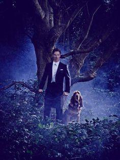 Benedict Cumberbatch -Vanity Fair. TK: contrast of nature & formal movie star.